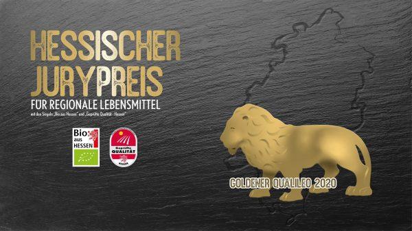 """Logo zum Wettbewerb """"Der Goldene Qualileo 2020"""""""